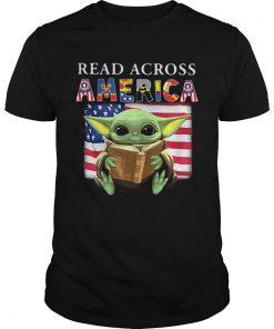 Baby Yoda Reading Books Read Across America  Unisex