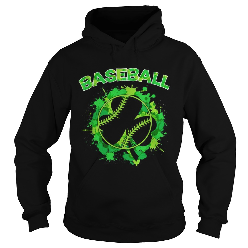 Baseball St Patricks Day Hoodie