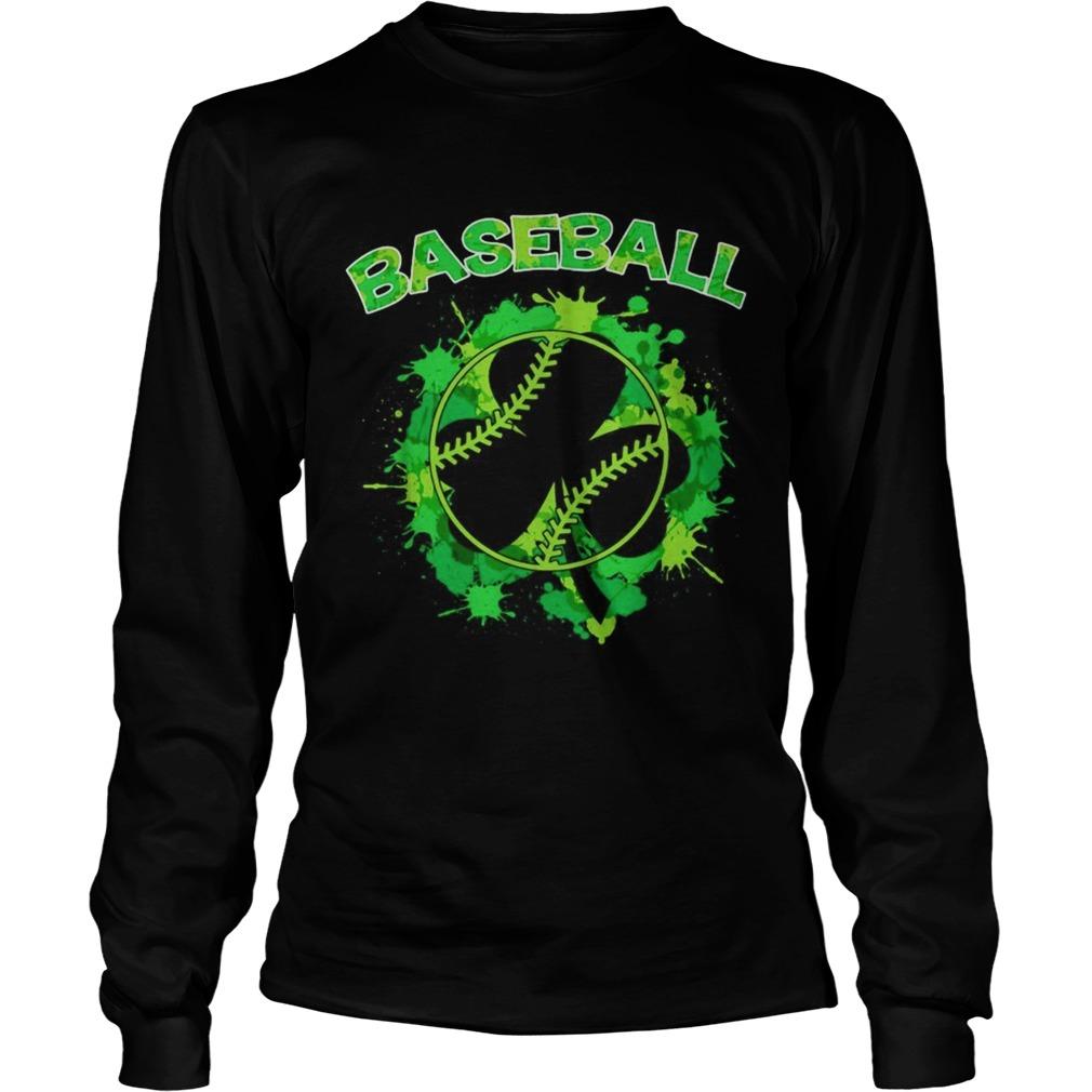 Baseball St Patricks Day LongSleeve