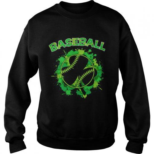 Baseball St Patricks Day  Sweatshirt