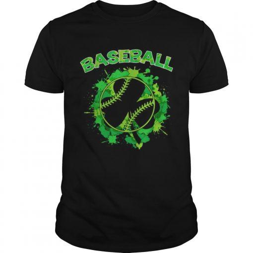 Baseball St Patricks Day  Unisex