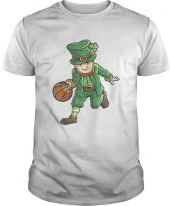 Basketball Leprechaun St Patricks Day Boys Kids Men Sports  Unisex