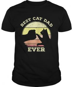 Best Cat Dad Ever Funny Cat Lover  Unisex