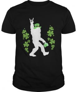 Bigfoot Beer Rock And Roll StPatricks Day  Unisex