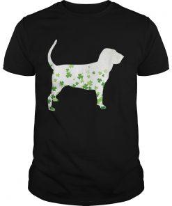 Bloodhound St Patricks Day Shamrock Dog  Unisex