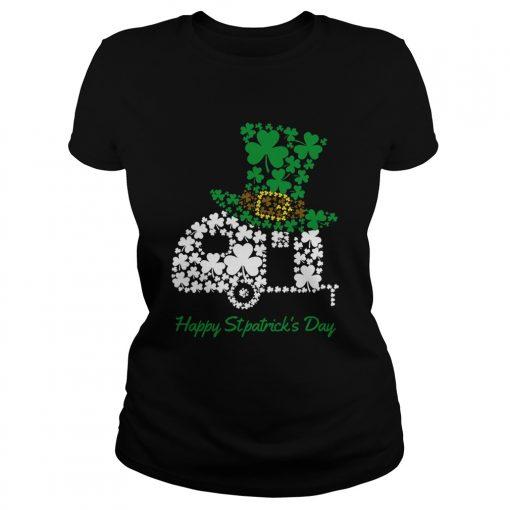 Camping Shamrock Irish St Patricks Day  Classic Ladies