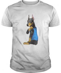 Doberman Tattoos I Love MOM Sitting Funny Gift Mothers Day 2020  Unisex