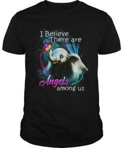 Elephants I Believe There Are Angel Among Us  Unisex