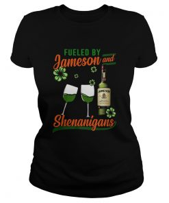 Fueled by Jameson and Shenanigans Irish St Patricks Day  Classic Ladies