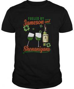 Fueled by Jameson and Shenanigans Irish St Patricks Day  Unisex