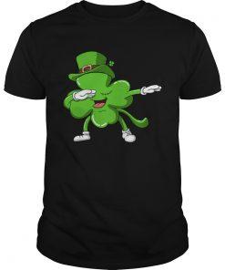 Funny Dabbing Shamrock Dab Happy St Patricks Day  Unisex