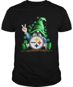 Gnomes Lucky St Patricks Day Hug Pittsburgh Steelers  Unisex
