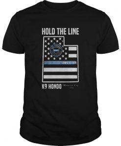 Hold The Line K9 Hondo Herriman City Utah  Unisex