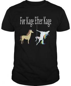 Horse And Unicorn Fr Kage Efter Kage  Unisex