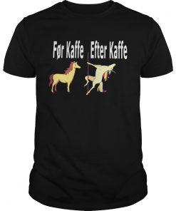 Horse For Kaffe Unicorn Efter Kaffe  Unisex