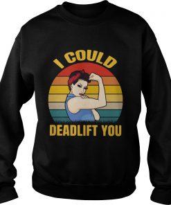I Could Beadlifer You Vintage  Sweatshirt