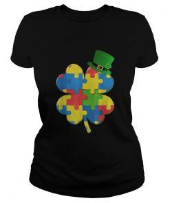 Irish Autism St Patricks Day  Classic Ladies