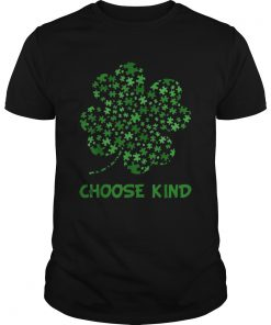 Irish Shamrock Autism Puzzle Pieces Choose Kind St Patricks Day  Unisex