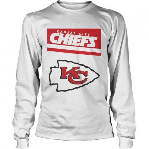 Kansas City Chiefs Logo Champions  LongSleeve