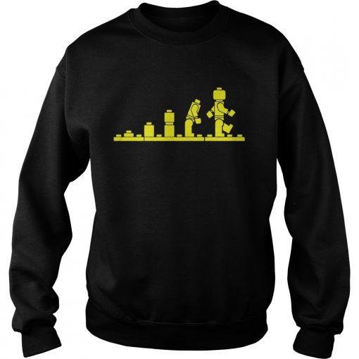 Lego Evolution  Sweatshirt