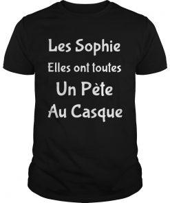 Les Sophie Elles Ont Toutes Un Pte Au Casque  Unisex