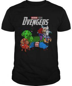 Marve Avengers Dachshund Dvenger  Unisex