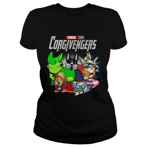 Marvel Avengers Corgi Corgivengers  Classic Ladies