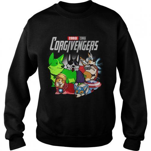 Marvel Avengers Corgi Corgivengers  Sweatshirt
