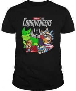 Marvel Avengers Corgi Corgivengers  Unisex