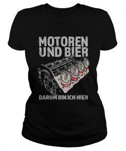 Motoren Und Bier Darum Bin Ich Hier  Classic Ladies