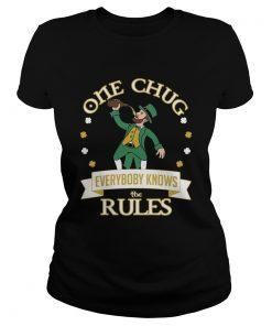 One Chug Leprechaun 2020  Classic Ladies