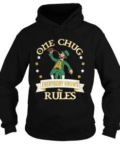 One Chug Leprechaun 2020  Hoodie