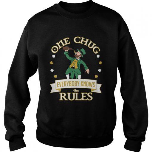 One Chug Leprechaun 2020  Sweatshirt