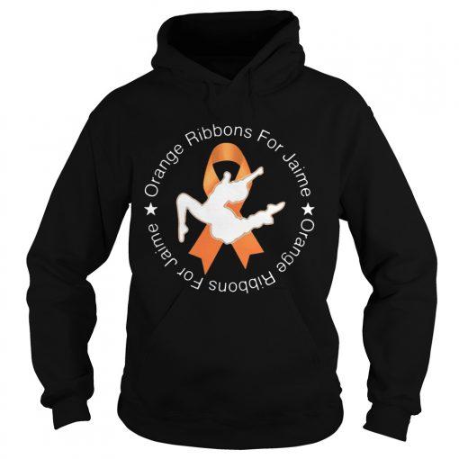Orange Ribbons For Jaime  Hoodie