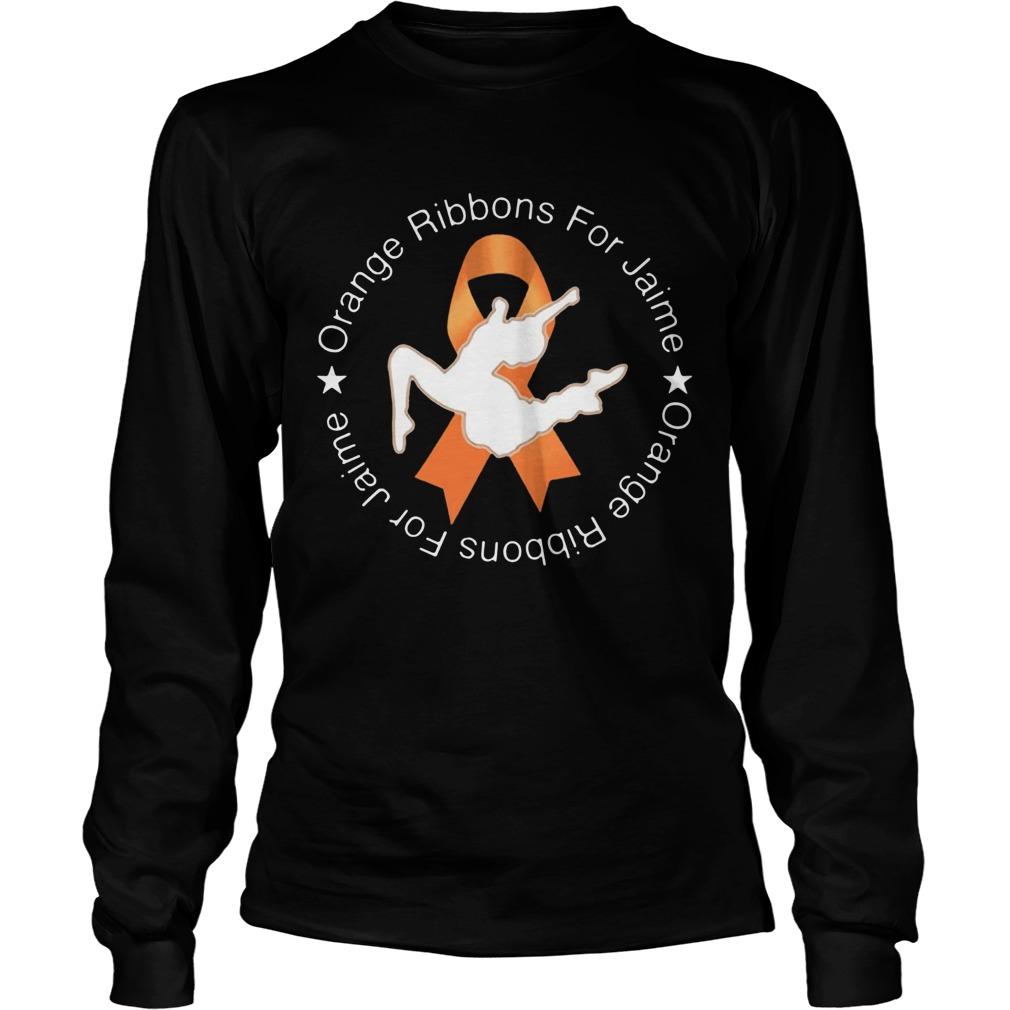 Orange Ribbons For Jaime LongSleeve