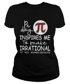 Pi day inspires me to make irrational yet  Classic Ladies