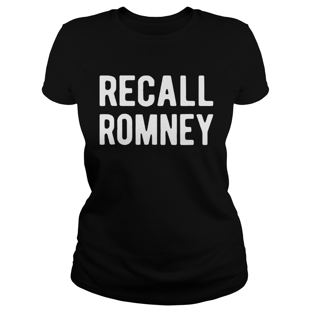 Recall Romney 2020 Classic Ladies