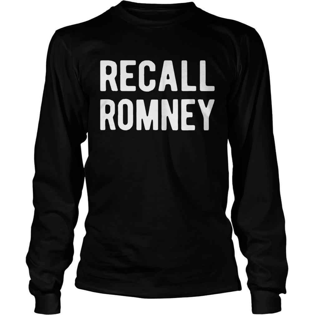Recall Romney 2020 LongSleeve