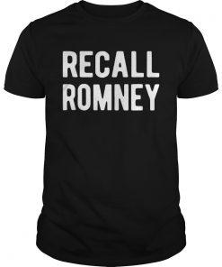 Recall Romney 2020  Unisex