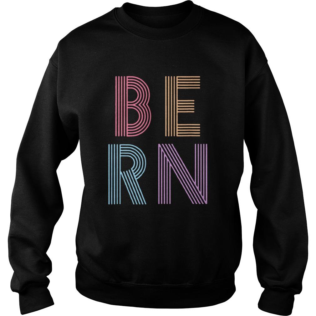 Retro Vintage Bernie Sanders BERN 80s 90s Sweatshirt