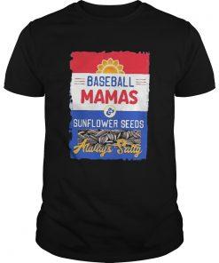 Salty Mamas sunflower seeds baseball mom  Unisex