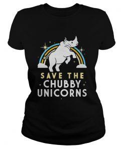 Save The Chubby Unicorns  Classic Ladies