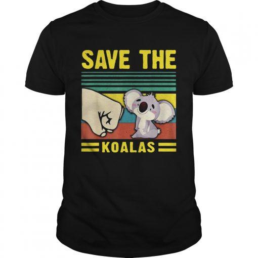 Save the Koalas VintageSave the Earth  Unisex