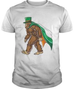 St Patricks Day Bigfoot  Unisex