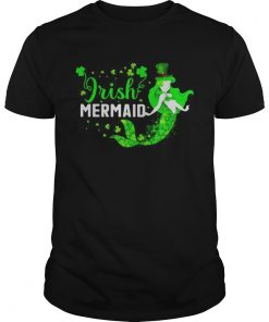 St Patricks day Irish mermaid  Unisex