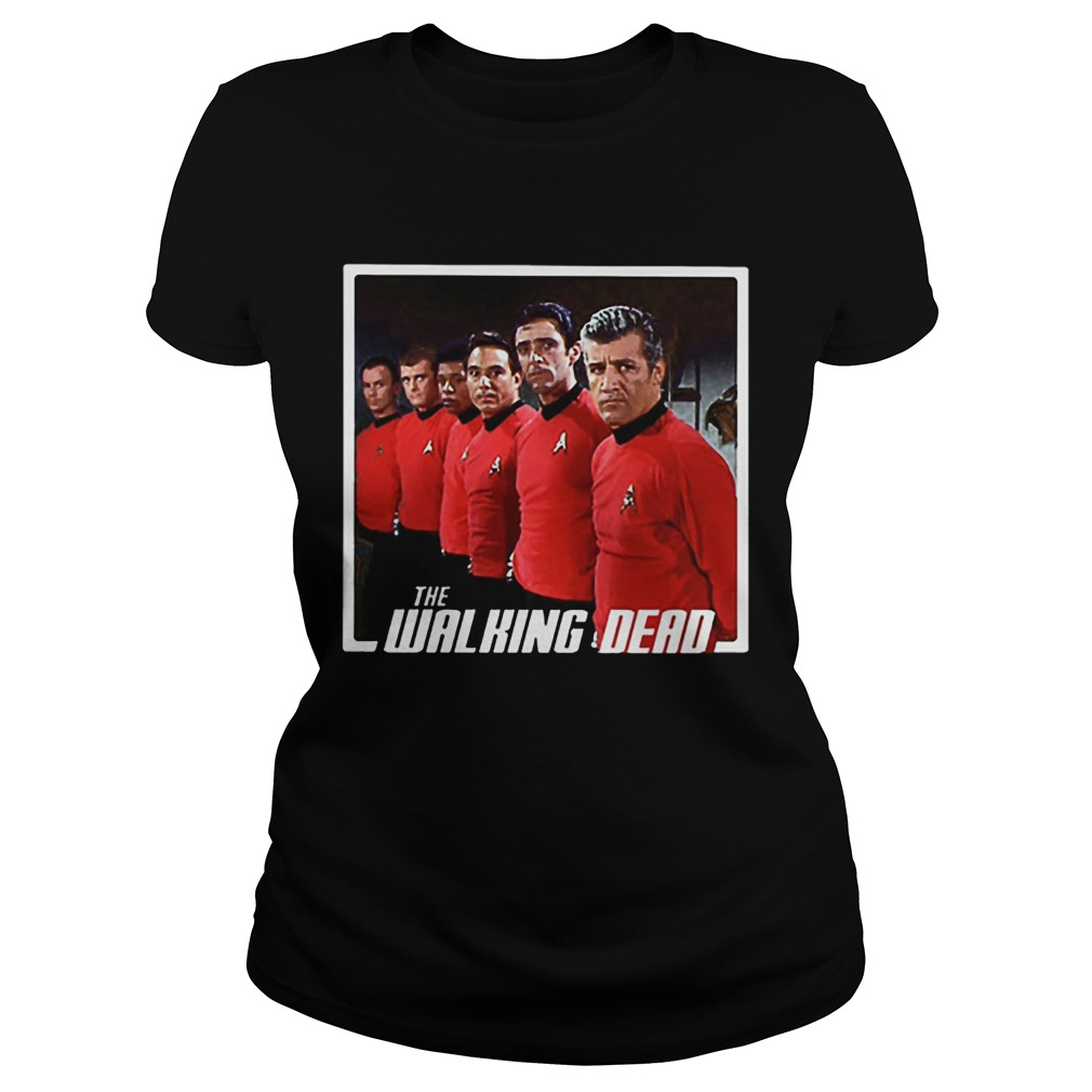 Star Trek Mashup The Walking Dead Classic Ladies