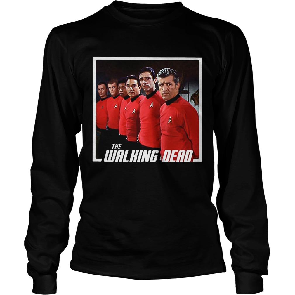 Star Trek Mashup The Walking Dead LongSleeve