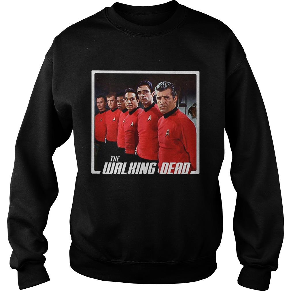 Star Trek Mashup The Walking Dead Sweatshirt