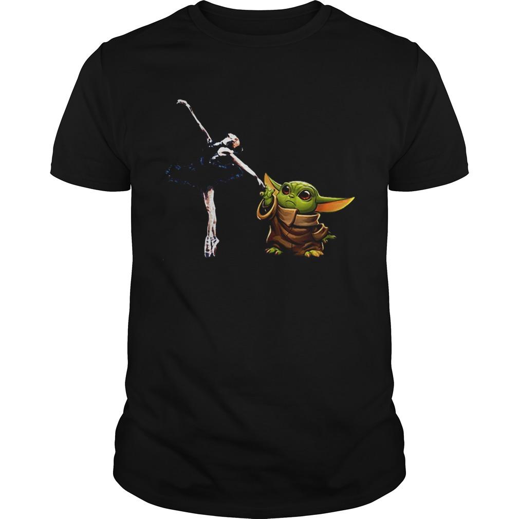 Star Wars Baby Yoda Holding Hand Bale Dancer Unisex