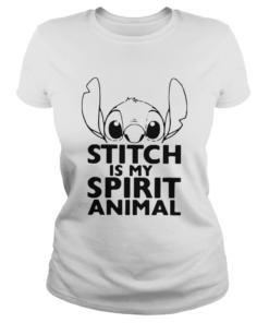 Stitch Is My Spirit Animal  Classic Ladies